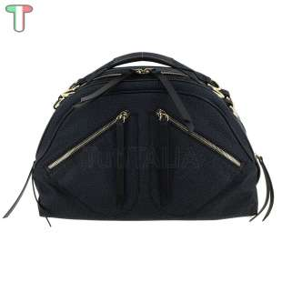 Borbonese Sexy Bag M In Jet OP Nero 934272296100