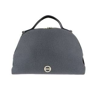 Borbonese Sexy Bag Medium in Graffiti Grigio 904104F09148