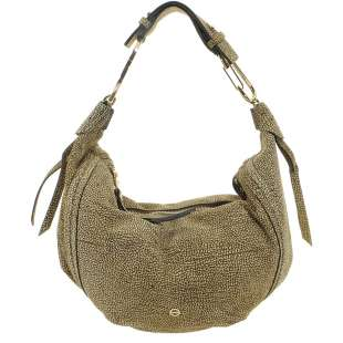 Borbonese Orbit Hobo Bag medium in Camoscio Op Naturale 963853684 X06