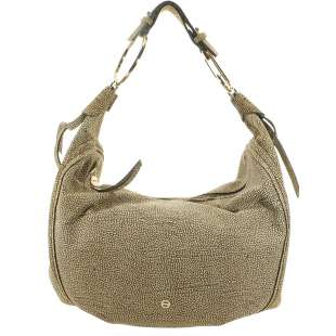 Borbonese Orbit Hobo Bag large in Camoscio Op Naturale 963854684 X06