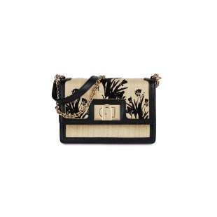 Furla 1927 Mini Naturale/Nero 1065969